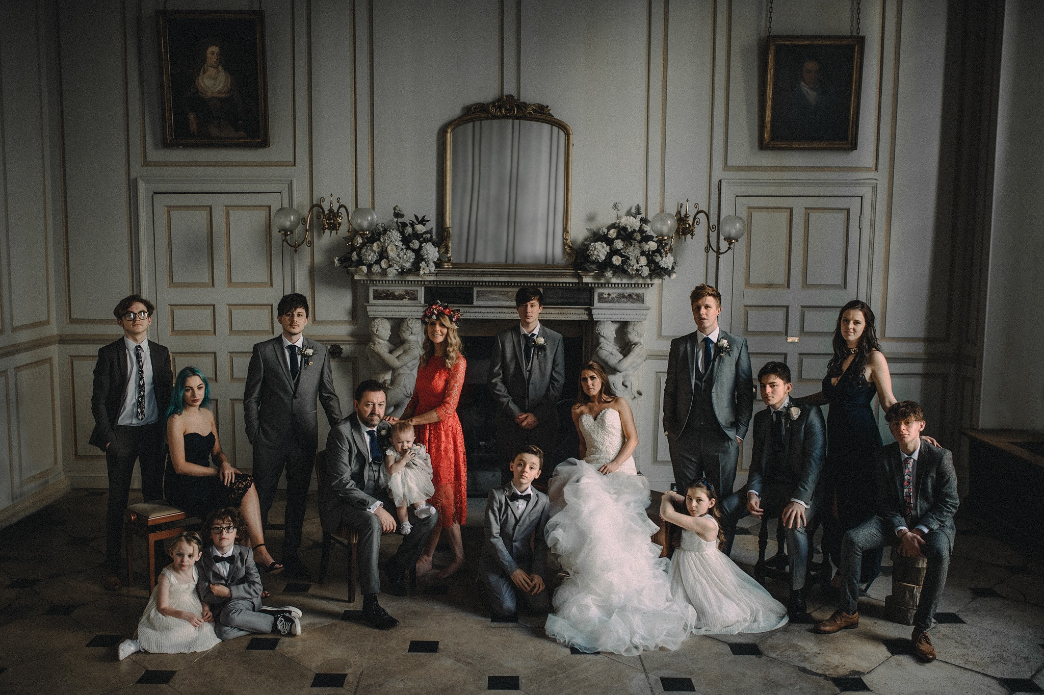 A family photo| Special moments| Perfect and elegant Wedding
