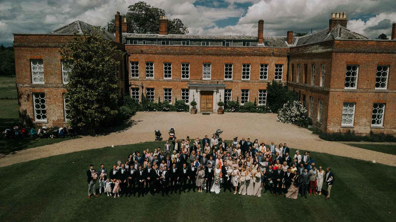 Their special day captured at Braxted Park