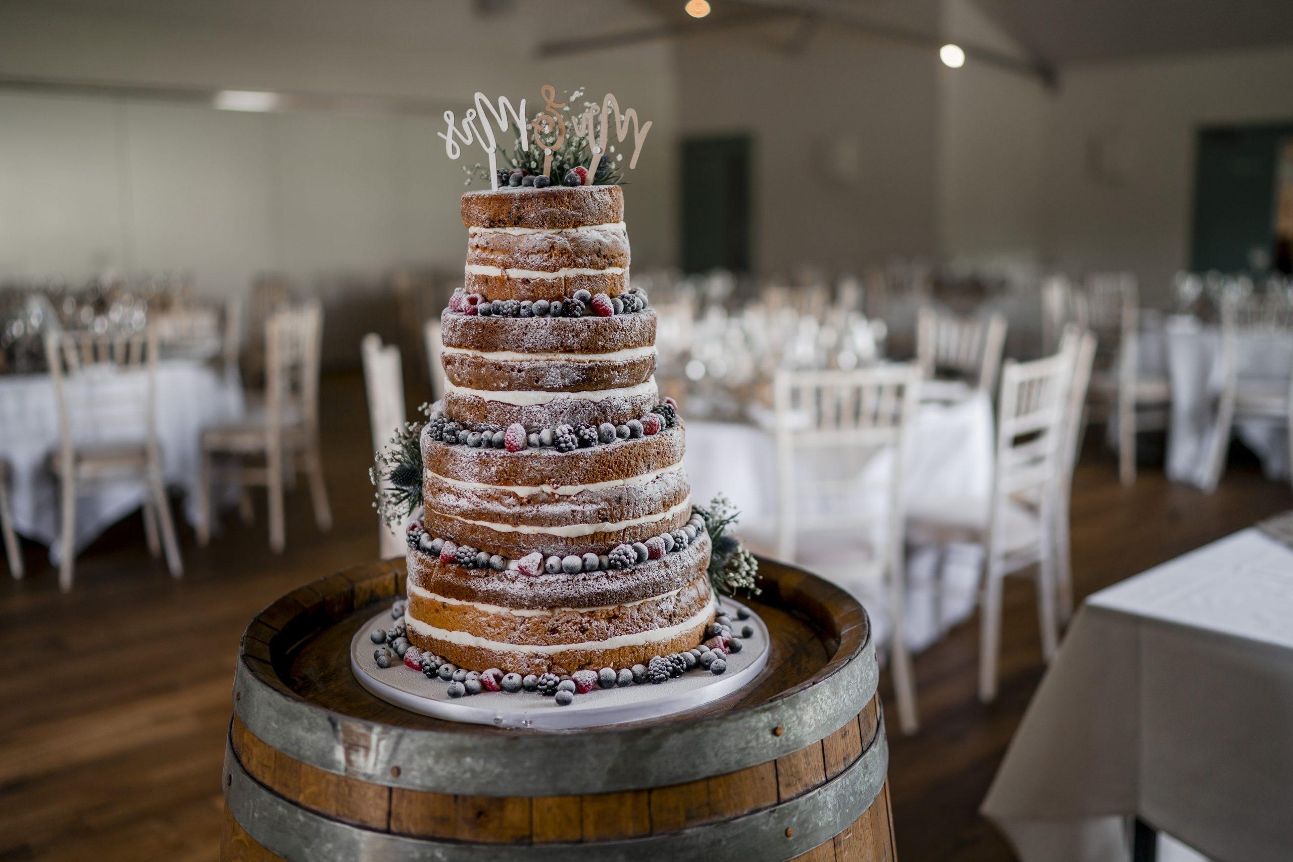 Victoria Sponge Wedding Cake Inspiration