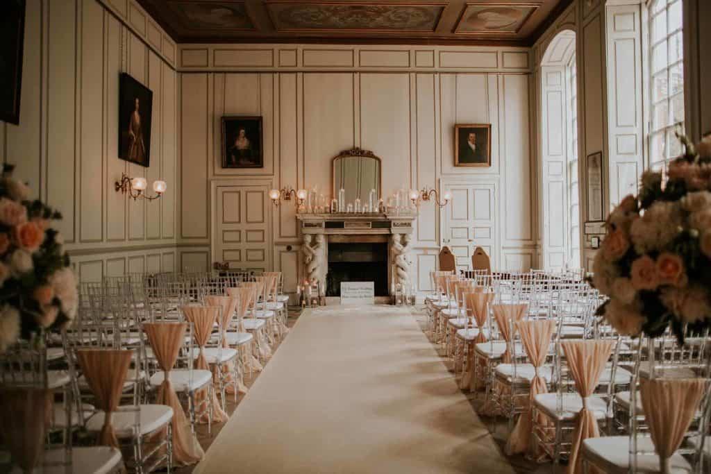 Gosfield Hall Wedding Venue