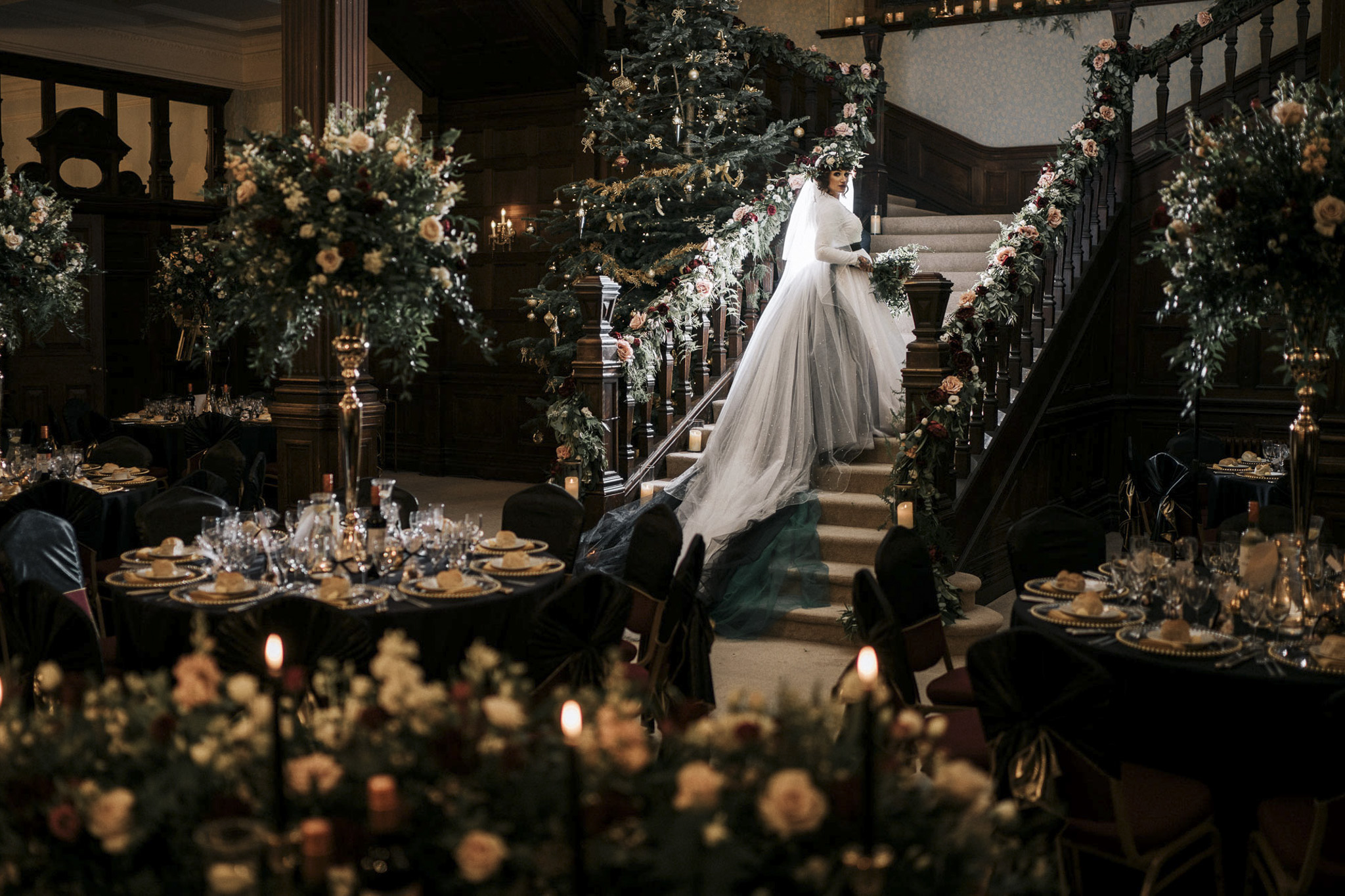 Wedding photographers South Wales| LLechwen Hall