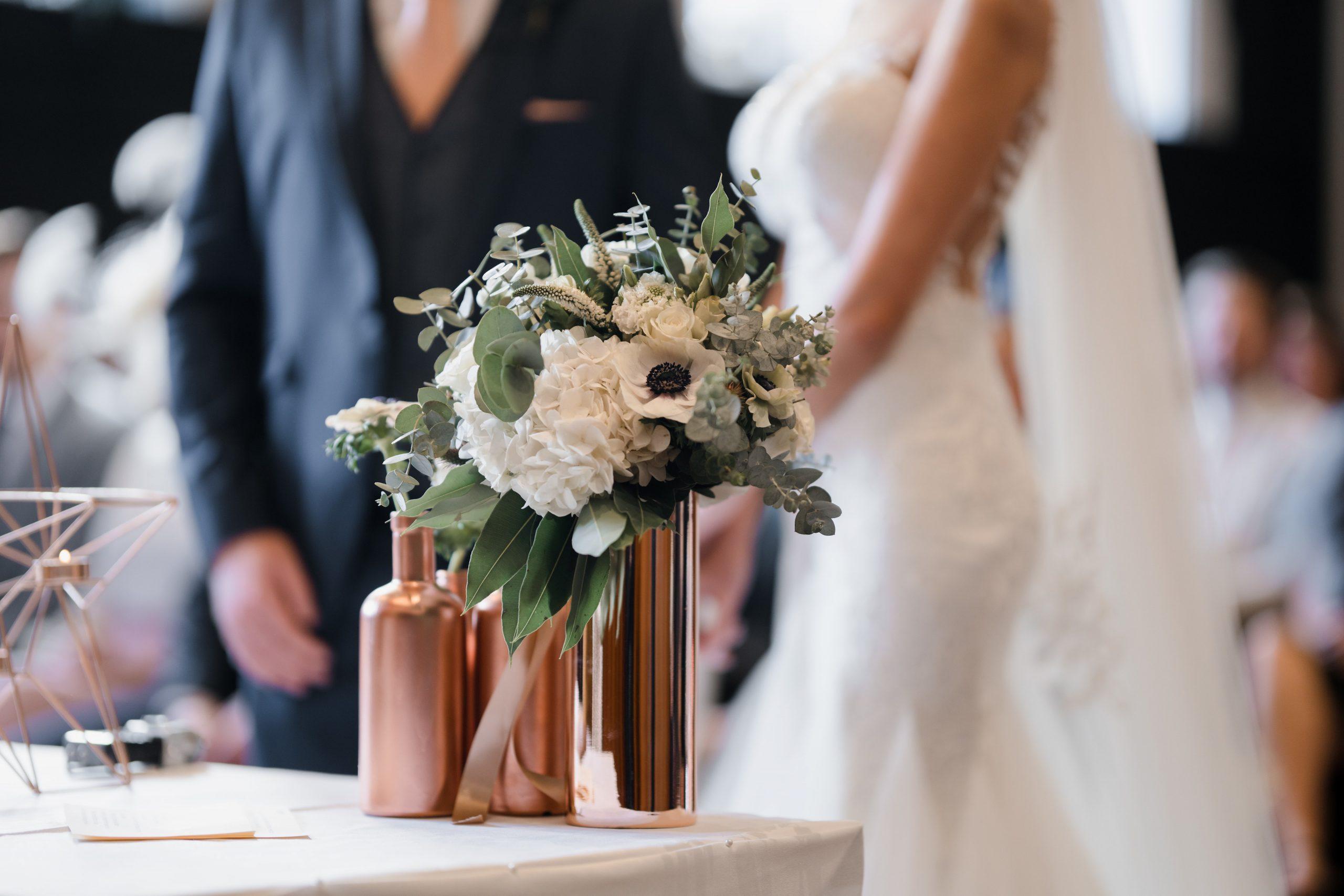 Beautiful White Wedding Flowers