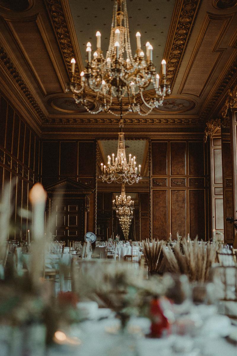 Gosfield Hall Wedding Decor