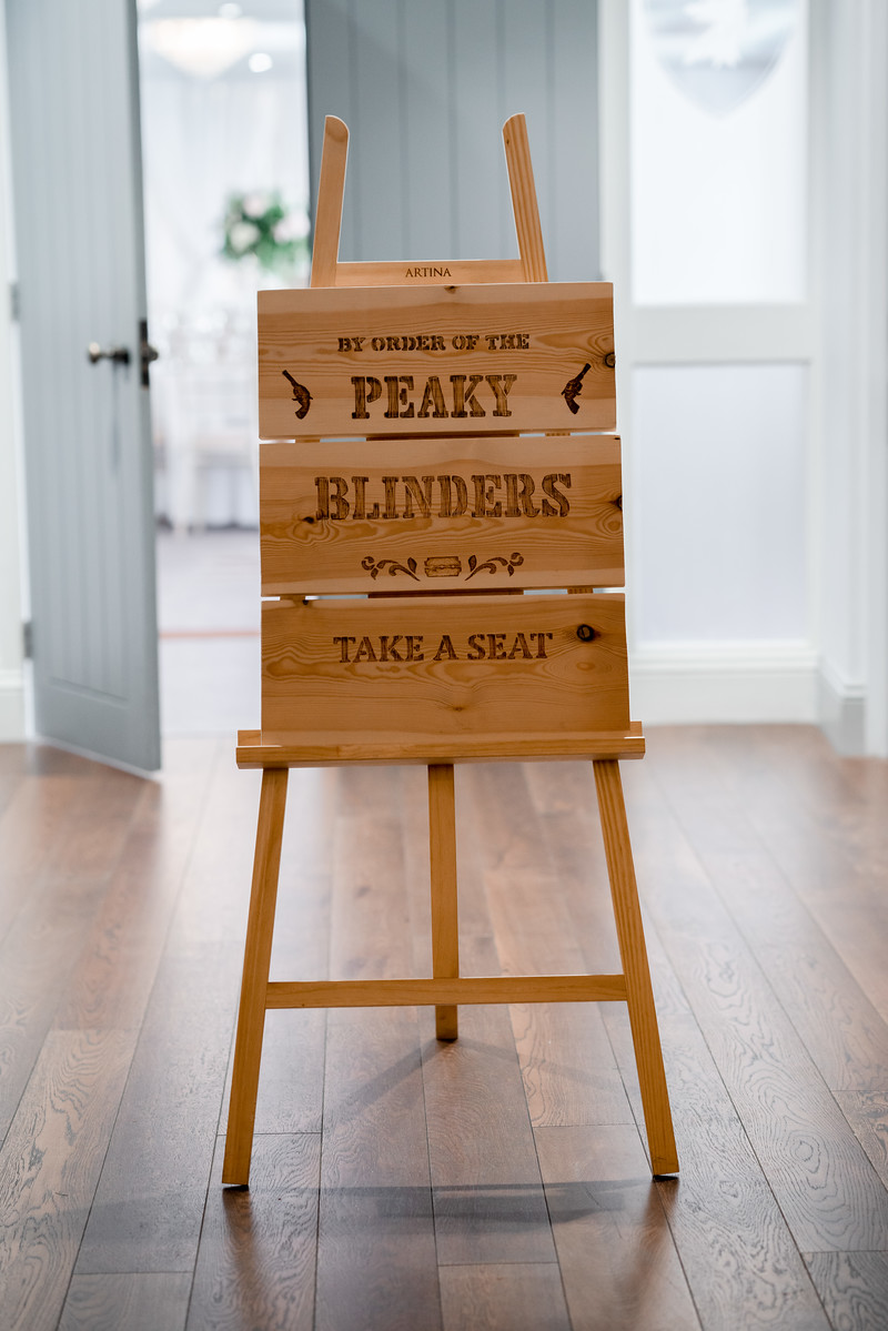Unique and Personalised Wooden Wedding Sign