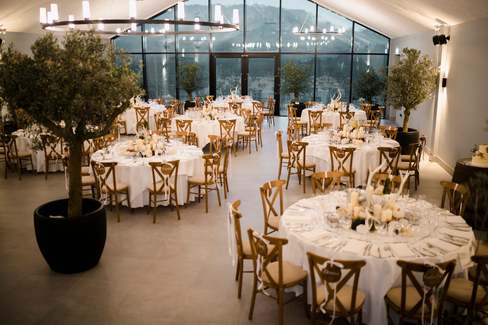 Rustic Theme Wedding Table Plan