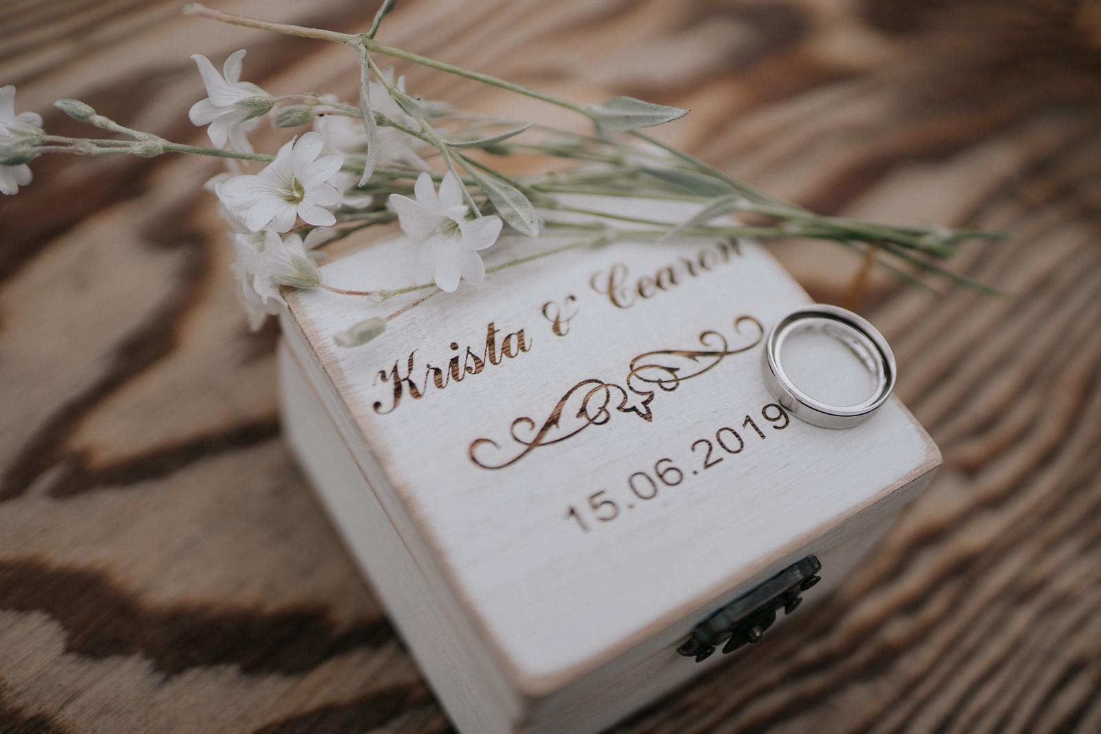 Unique Photo of Wedding Rings