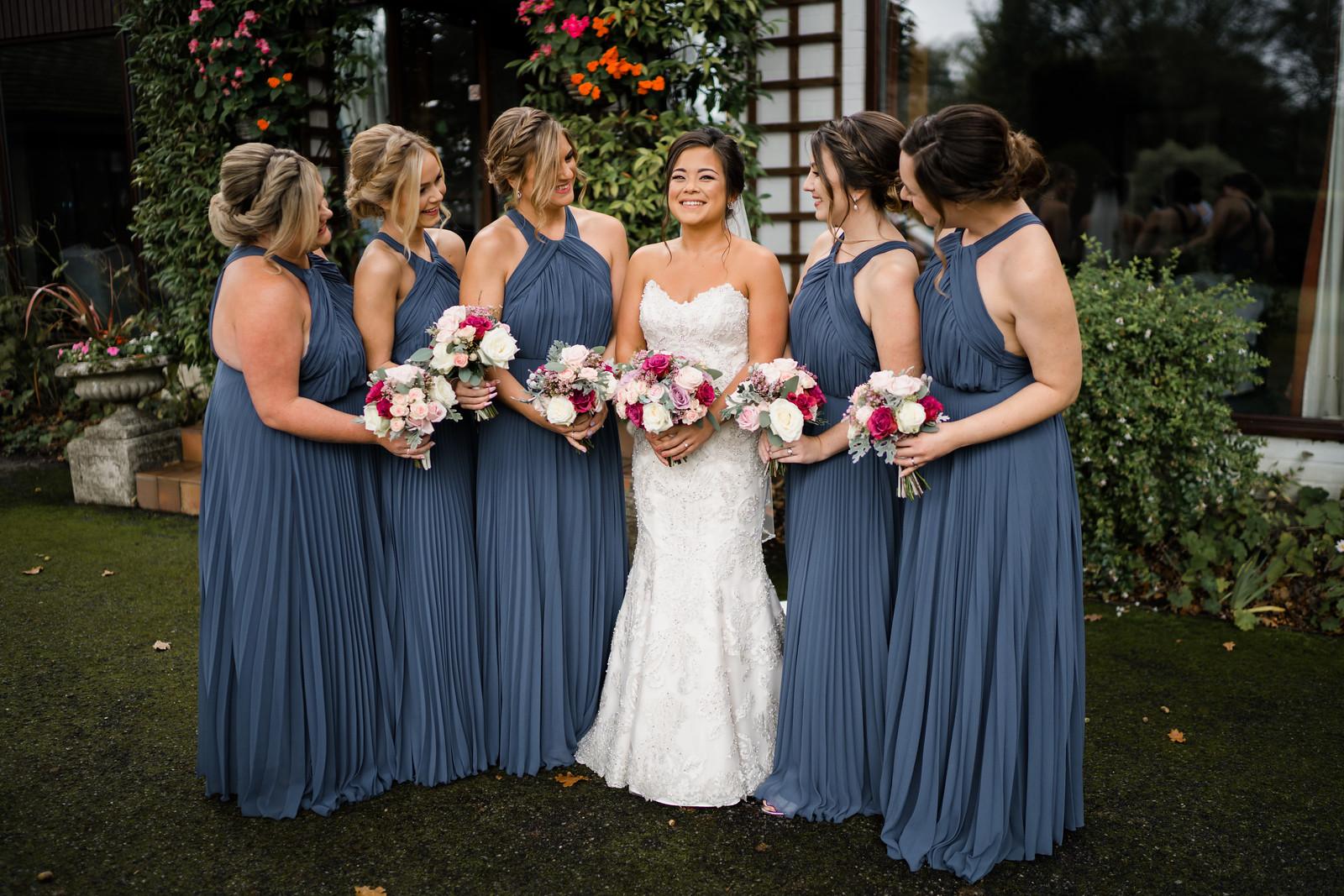 Bridesmaid wedding photo