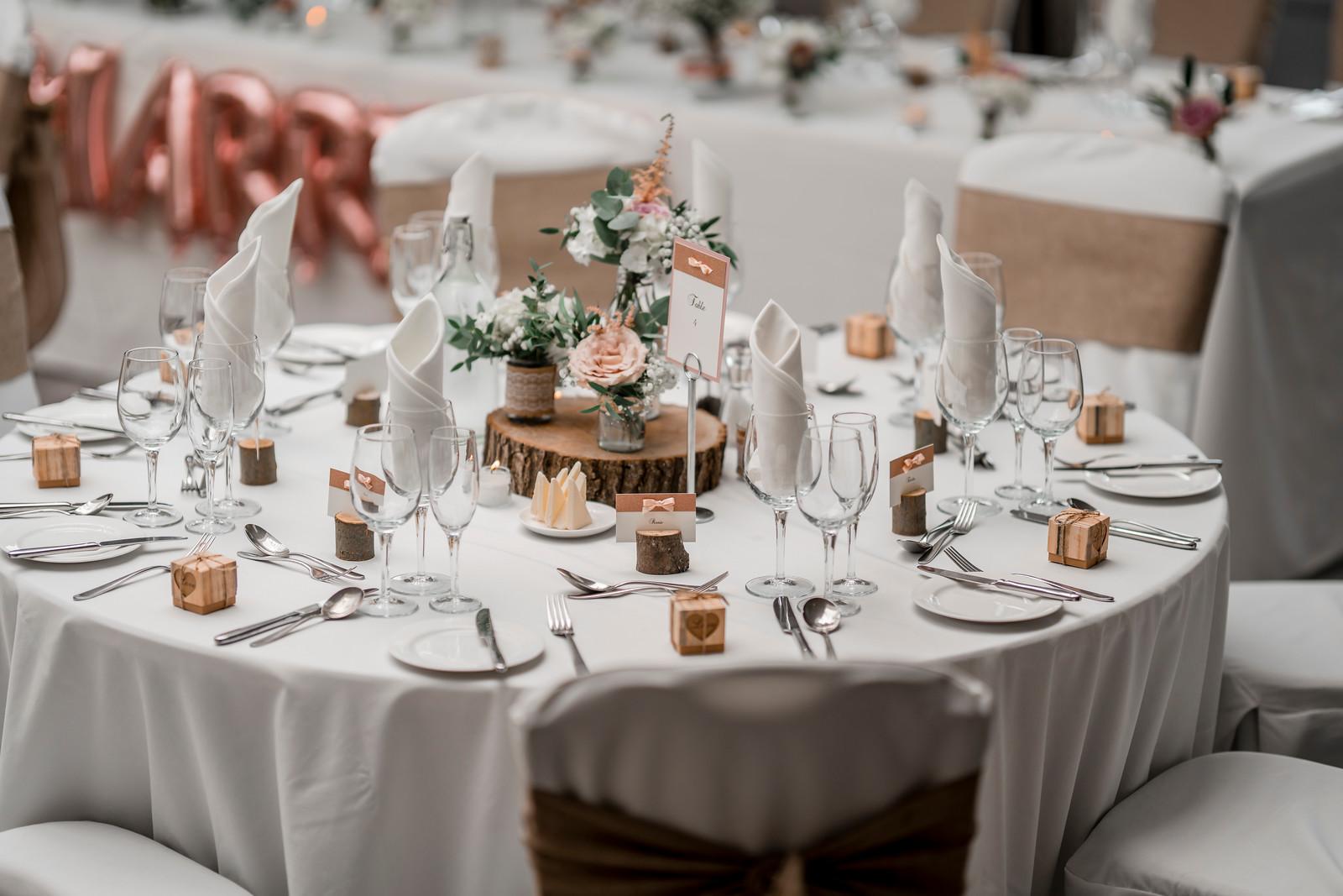 Rustic Wedding Style Reception