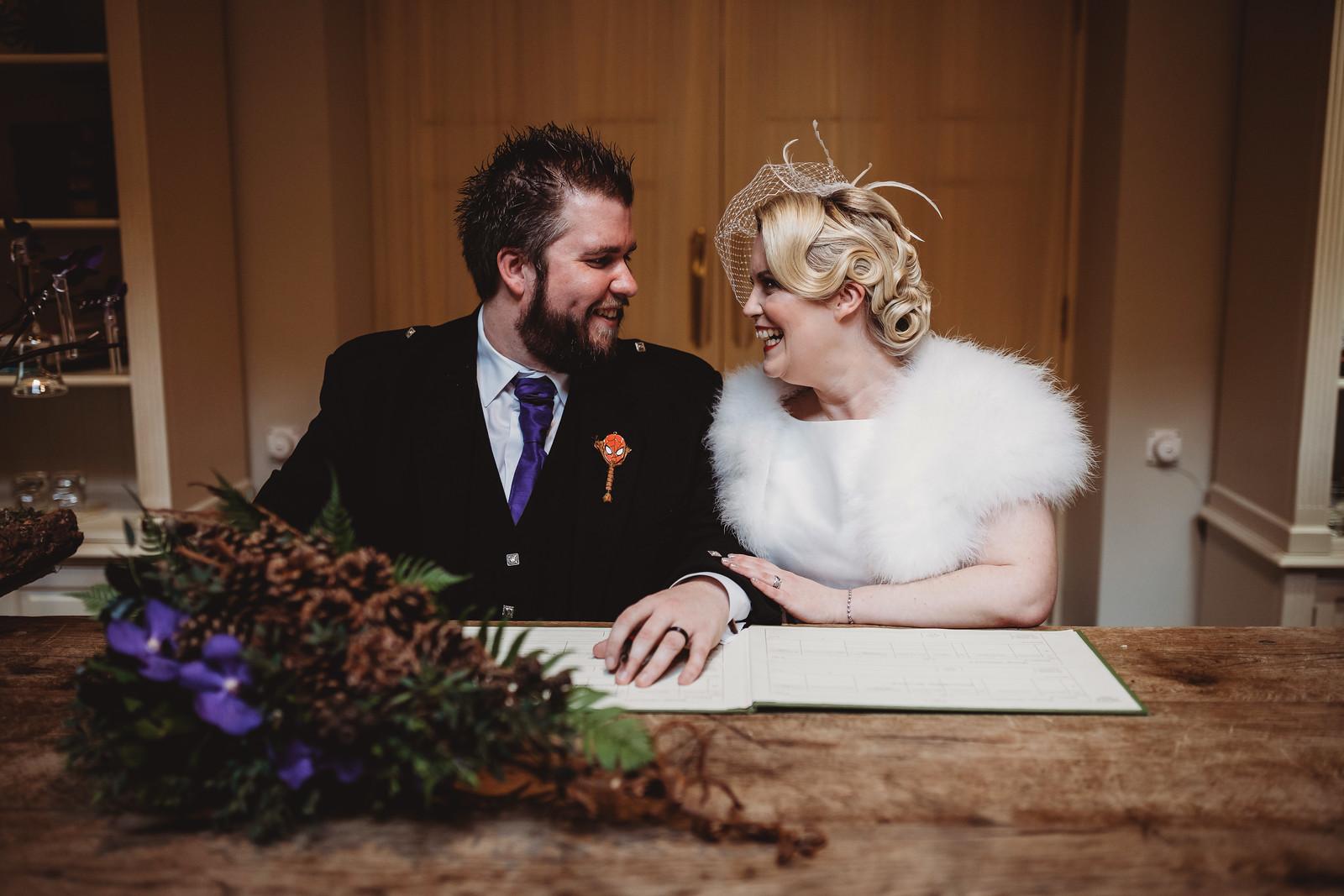 Bride and good wedding photo