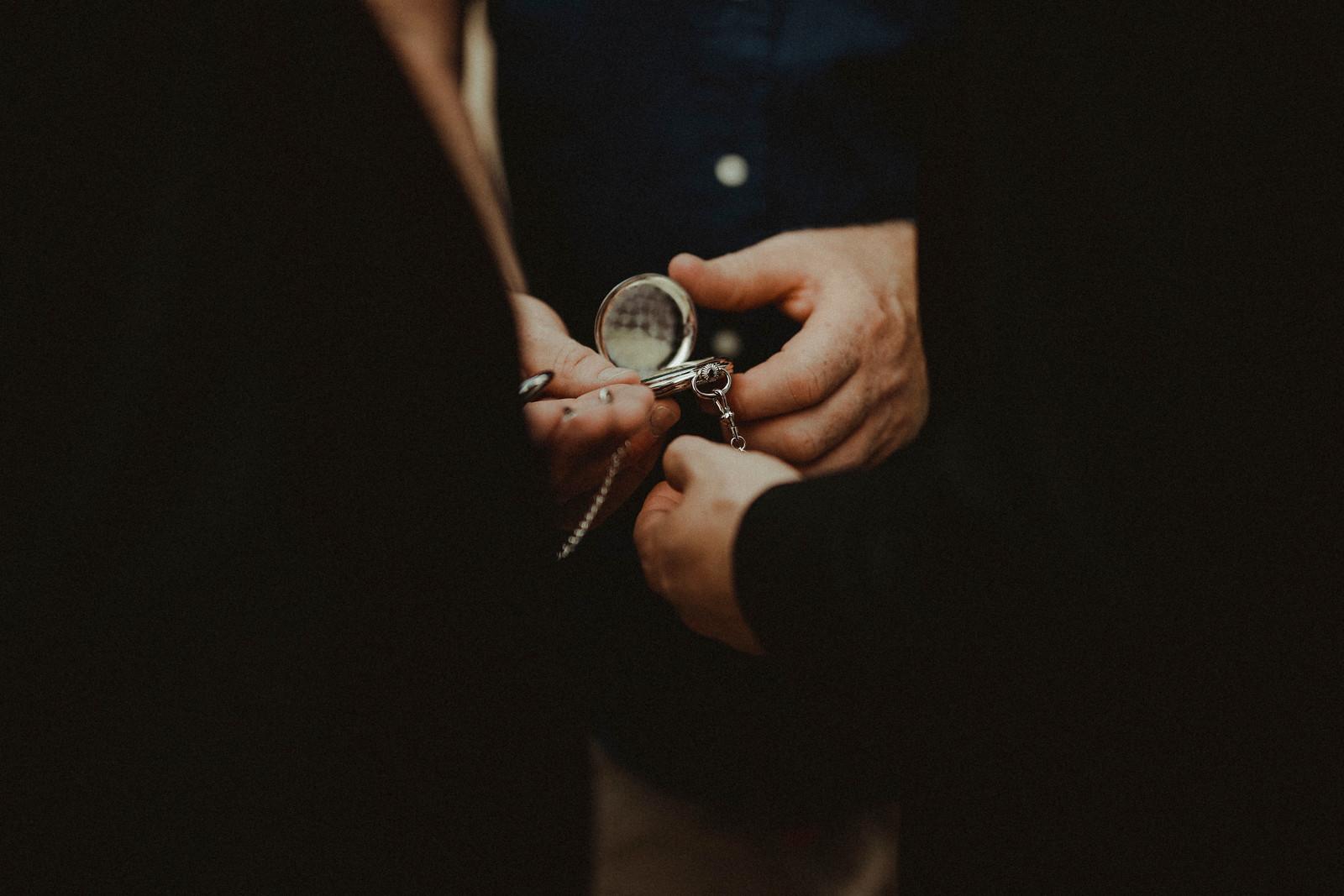 Groomsmen pocket watch