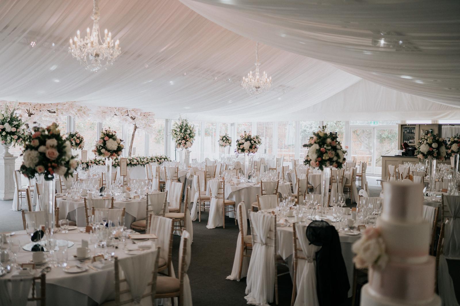 Stunning Wedding Table Layout