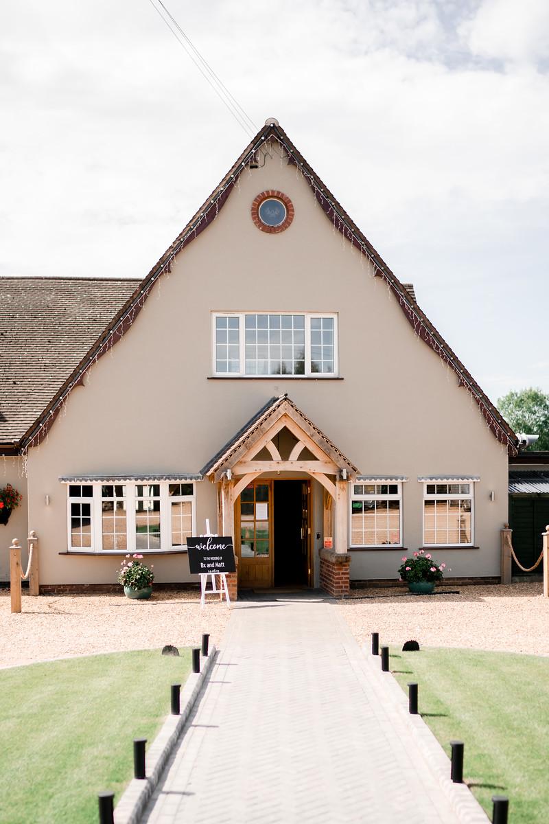 Badgers Mount wedding venue